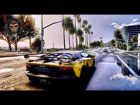 GTA 6 Graphics Gameplay 4K 60fps (Mod) - GTA 5 Realistic
