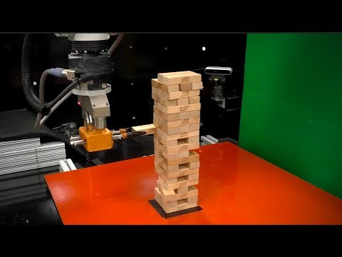 I Bet You Can't Beat This Jenga Playing Robot