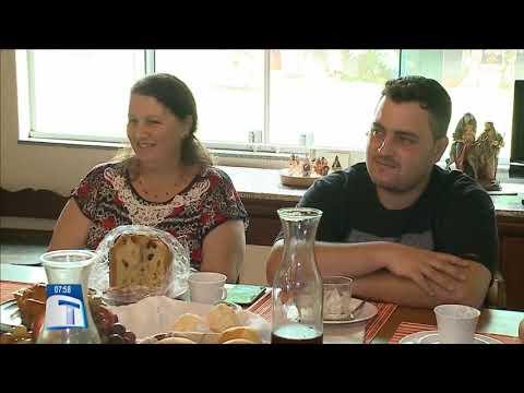 Família de Almirante Tamandaré toma café com Forcolen - Tribuna da Massa Manhã (03/01/18)
