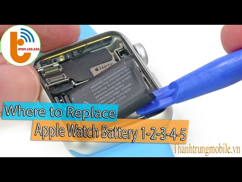 Where to replace apple watch battery 1 2 3 4 5