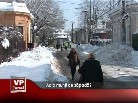Adio munţi de zăpadă?