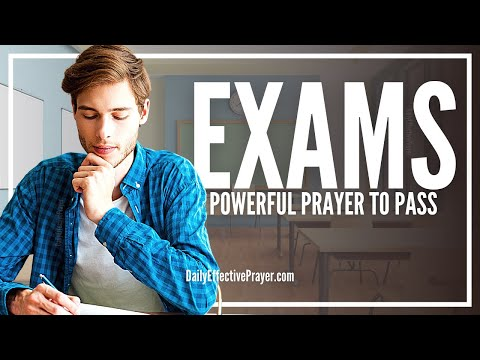 Prayer For Exams | Prayers To Pass Exams and Tests