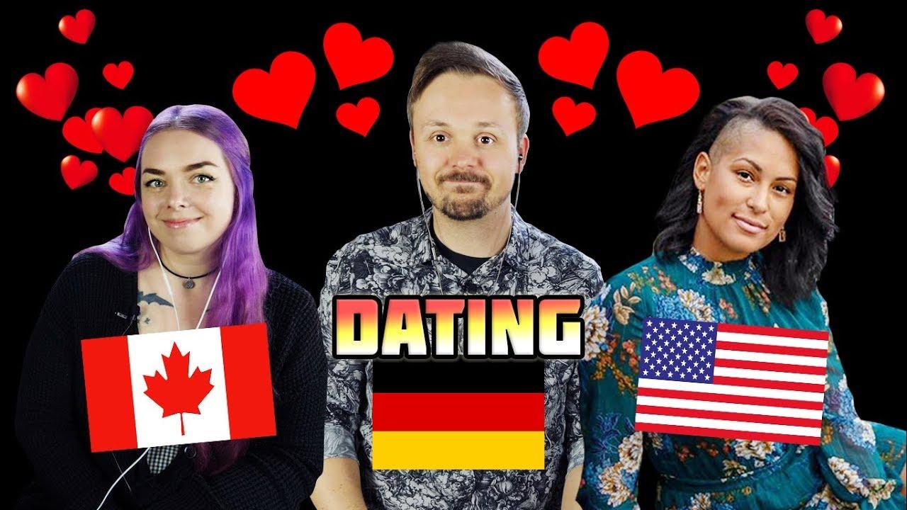 Dating German Men vs American Men vs Canadian Men | A Romance Analysis w/ Hayley Alexis and Dina Screenshot Download