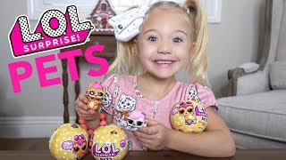 EVERLEIGH OPENS TONS OF L.O.L. SURPRISE PETS *WHICH PETS DID SHE GET?*
