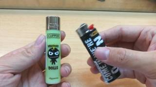 Clipper vs Bic vs Cricket lighter showdown