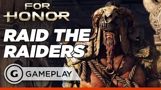 Raiding the Raiders - For Honor: Single Player Campaign Gameplay