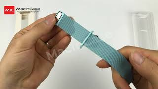 Ремешок STR Milanese Loop Band for Apple Watch - Soft Blue