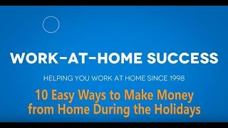 10 Easy Ways to Make Money from Home During the Holidays
