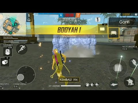 BOOYAH?BERMAIN MODE CLASH SQUAD?#free fire.