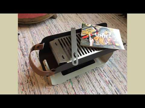 UNA Portable Grill Unboxing