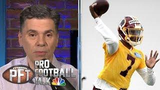 PFT Top 30 Storylines: When will Dwayne Haskins start?   Pro Football Talk   NBC Sports