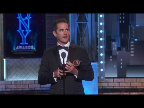 Acceptance Speech: Andy Blankenbuehler (2017) by The Tony Awards