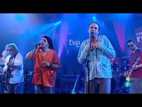 Bersuit // Barriletes - En vivo en TVE (España) 2011