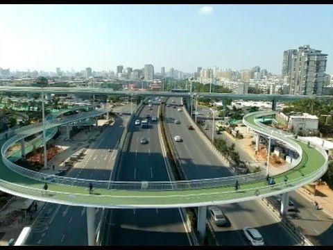(VIDEO) China sorprende una vez más: La ciclo vía más grande del mundo