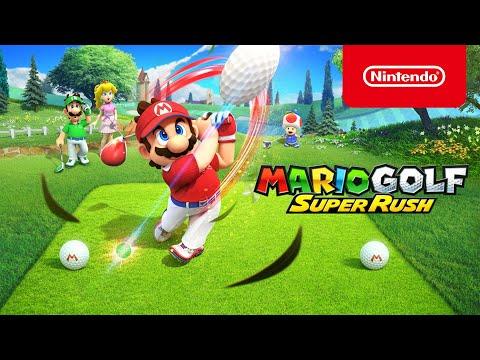 Mario Golf : Super Rush - Trailer d'annonce