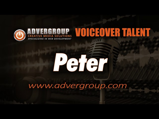 PETER Male VOICEOVER ..