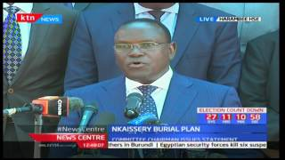 Late CS  to be buried on Saturday 15th July 2017 in Kajiado, Nkaissery Burial Plan