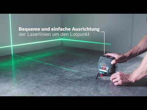 Kontaktlos nivellieren mit 4x besserer Sichtbarkeit – Bosch GCL 2-50 CG Professional