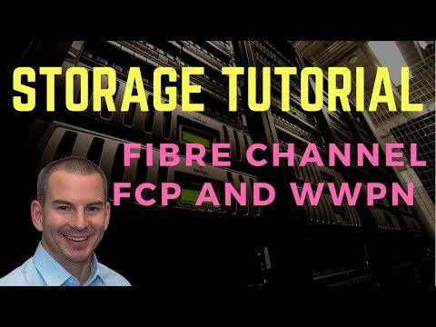 Fibre Channel SAN Tutorial Part 1 - FCP and WWPN Addressing (new version)