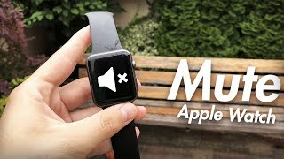 How to Make Apple Watch Silent - How to Mute Apple Watch