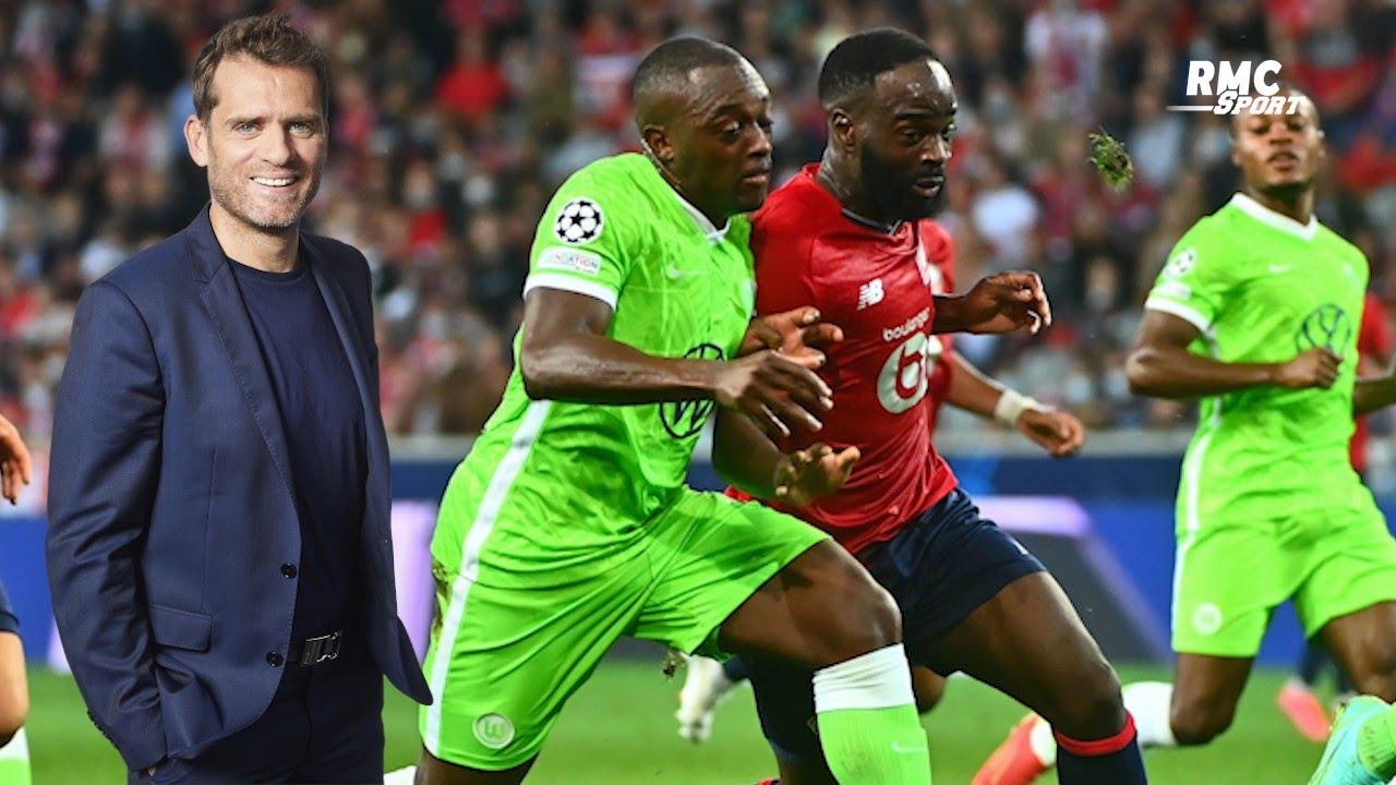 """Lille : """"Faire nul contre Wolfsburg, c'est un résultat de merde !"""" lance Rothen"""