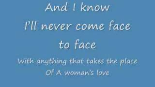 A Woman's Love lyrics