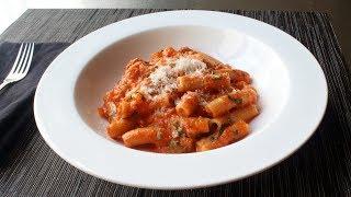 Rigatoni Al Segreto - Rigatoni with Secret Sauce - Gino