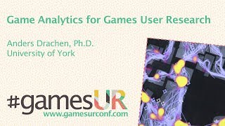Game Analytics for Game User Research