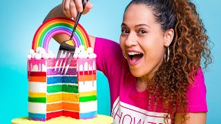 ULTIMATE Rainbow Drip Cake! | How To Cake It with Yolanda Gampp