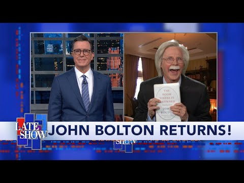John Bolton Is Committed To Getting His Story Out, Even If It Takes Down President Trump