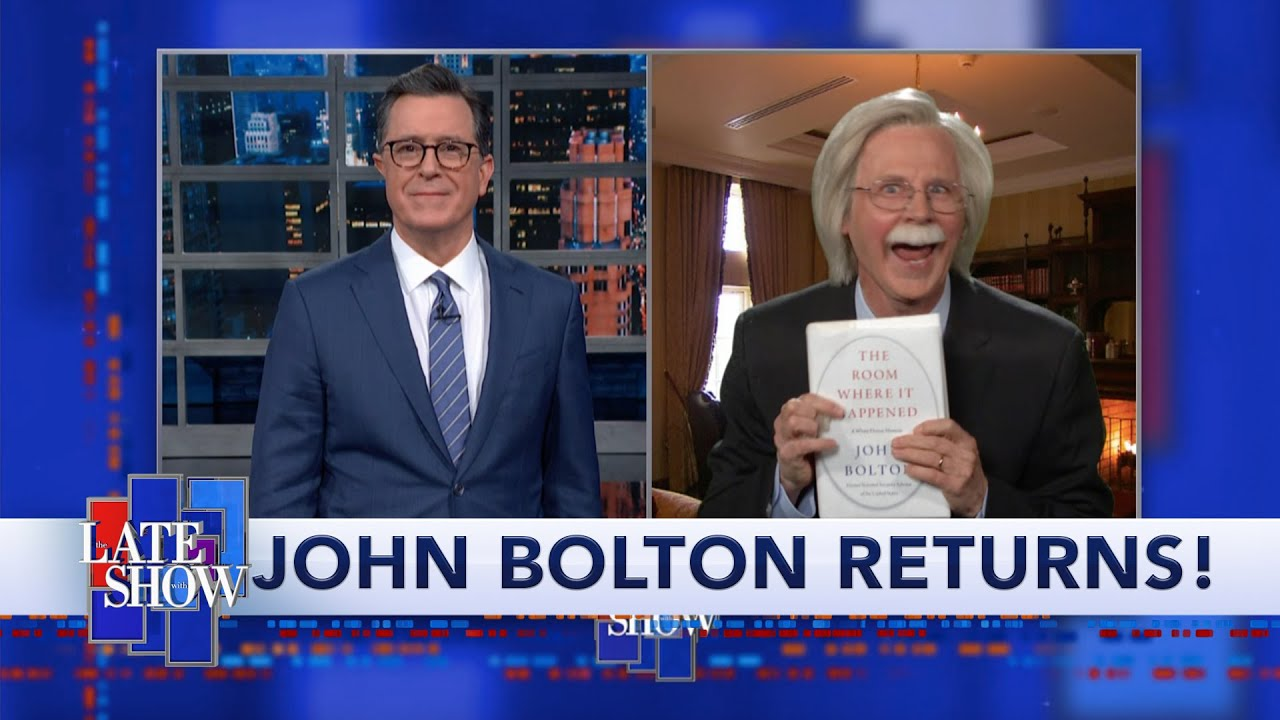 John Bolton Is Committed To Getting His Story Out, Even If It Takes Down President Trump thumbnail