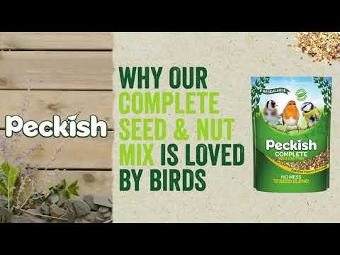 Peckish complete seed and nut mix 1kg Video