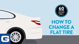 How to change a flat tire - GEICO