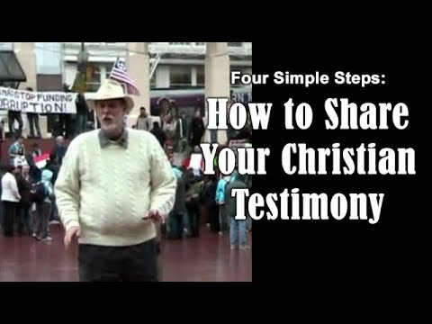 Download How To Share Your Testimony (Four Steps To Sharing) Mp4 HD Video and MP3