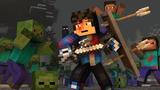 """The Struggle"" - A Minecraft Original Music Video ♫"