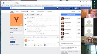 How to develop a business page on Facebook
