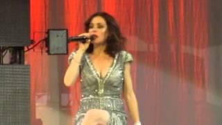 Tina Arena concert - BURN - Sydney 11/09/14