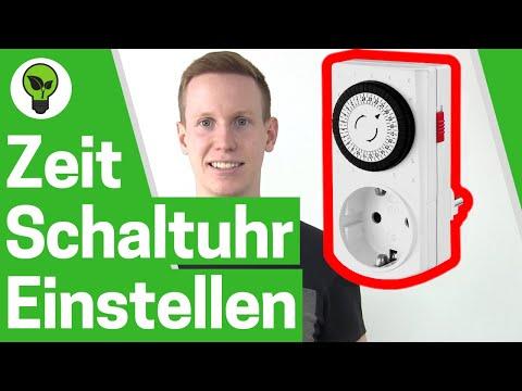 Zeitschaltuhr einstellen analog ✅ ULTIMATIVE BEDIENUNGSANLEITUNG: An Steckdose anschließen!!!