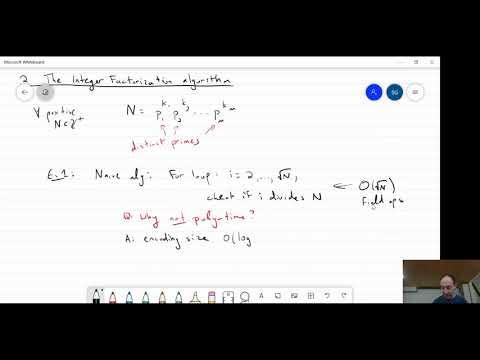 Intro to Quantum Computation: Lecture 10 - Shor's factoring ...
