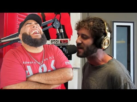 His First Radio Freestyle - The Hot Seat: Lil Dicky Freestyle [Exclusive Video] - REACTION