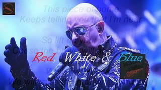 Judas Priest - Red, White & Blue