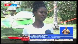 Prime: Diani Sky-diving now gaining popularity in the country 15/11/2016