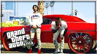 GTA 5 BROTHERS IN DA HOOD EP. 1 - TRAP LIFE 💊🚬 FT. MYKEL BADKID (GTA 5 MODDED ROLEPLAY)