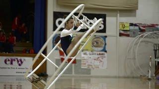WC 2013  in Wheel Gymnastics  Junior woman Noa Alexandori 2nd Place