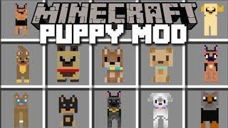 Minecraft PUPPY MOD / HELP THE VILLAGERS FIND THEIR PUPPY!! Minecraft