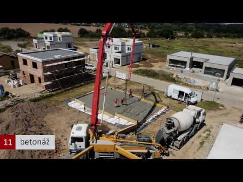 Stavba základové desky - základy izolované pomocí zásypu z kameniva Liapor