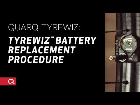 QUARQ: TyreWiz™ Battery Replacement Procedure