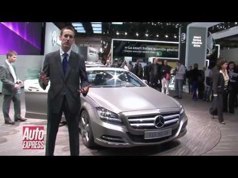 New Mercedes CLS at paris Motorshow 2010 - Auto Express