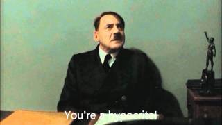 Hitler is informed about the riots in England