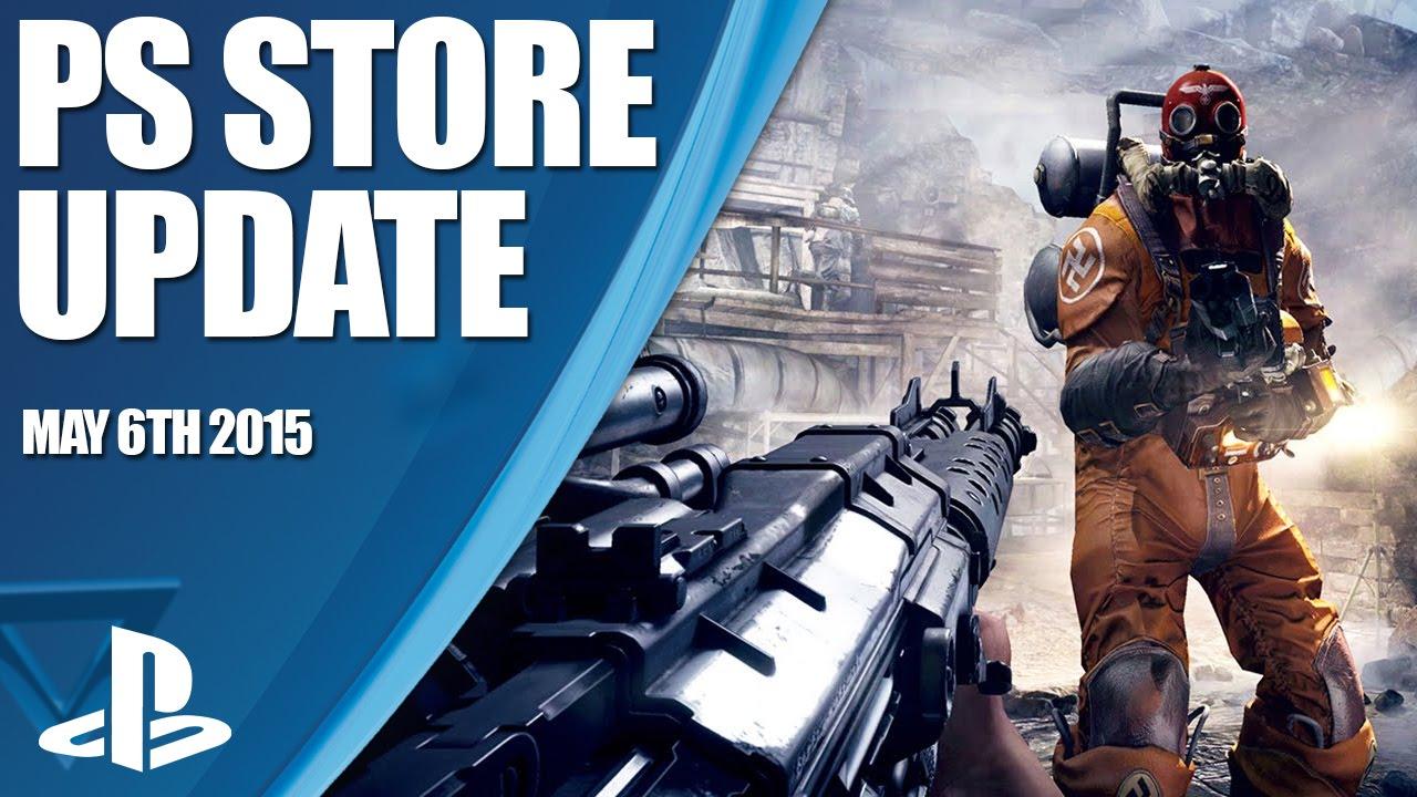 Mise à jour du PlayStation Store : Project CARS, Wolfenstein: The Old Blood, et plus encore…